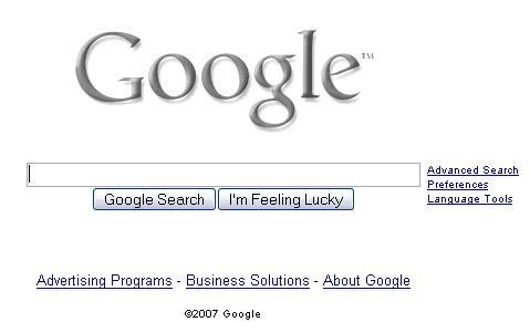 """Google no quitara el boton """"Voy a tener suerte"""" Google_"""